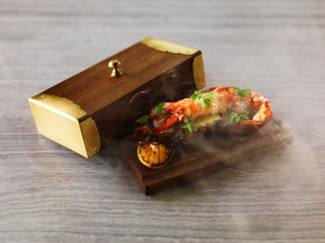 Half Smoked Boston Lobster, Butter Sauce, Smoked Lemon.jpg