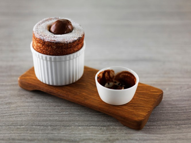 Orange and Clove Soufflé, Chocolate Sorbet.jpg