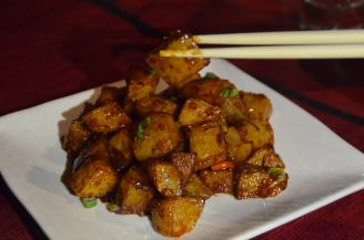 Korean Chilli Potatoes