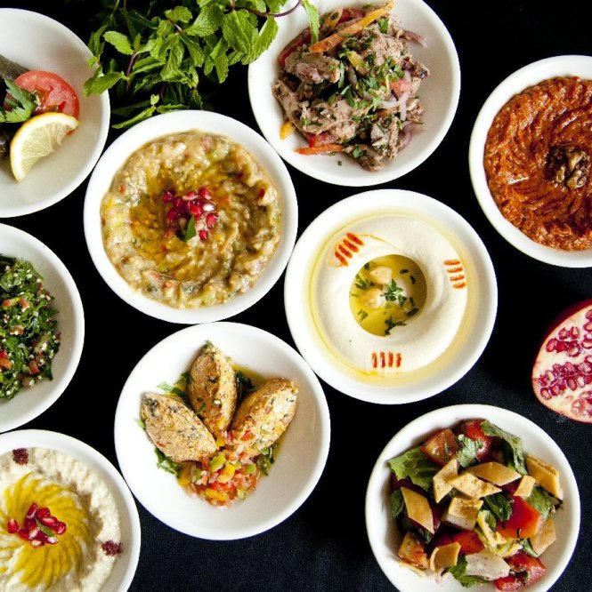 Fifty Five East Restaurant -_Lebanese_Offerings